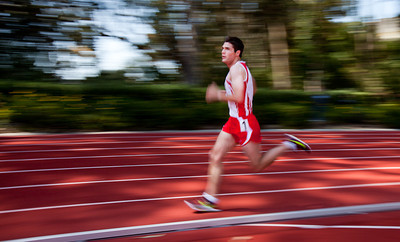 Athletes compete at the annual San Francisco State Distance Carnival on April 6, 2012 at Cox Stadium.