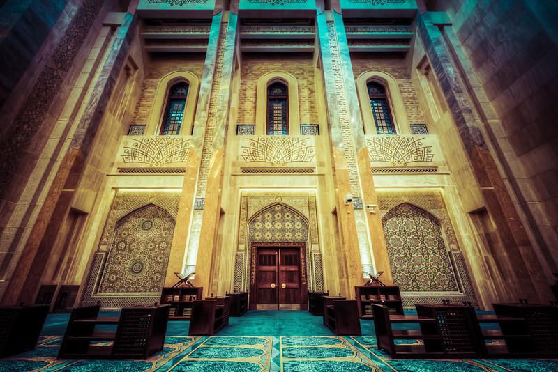 The Masjid's door
