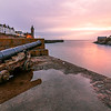 Historic Harbour, Porthleven, Sunset, Cornwall, England