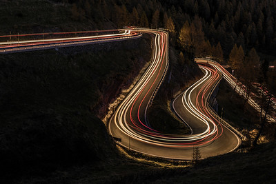 Night on the Passo Rolle