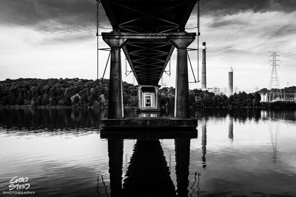 Edgemoor Road Bridge over Melton Hill Lake