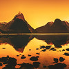"<h2>A Reflective Morning in Milford Sound</h2> <br/>After sleeping in my sleeping bag all night, a 6 AM wake up time was a little bit rough. The rough part was the cold that quickly cut through to my bones when I got out. Usually I get dressed inside the tent, but, being tentless, I had no other options. I guess I could have gotten dressed inside the sleeping bag, but that would have been a little bit strange and difficult. Plus, from the outside, I would have looked like I was going through some metamorphosis. <br/><br/>- Trey Ratcliff<br/><br/><a href=""http://www.stuckincustoms.com/2012/09/14/a-reflective-morning-in-milford-sound/"" rel=""nofollow"">Click here to read the rest of this post at the Stuck in Customs blog.</a>"