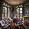 "<h2>The Old Room of Macabre Detritus</h2> <br/>Here is the final shot from that awesome room Miss Aniela and I found tucked away in the back corner of that mansion. What a creepy place! Actually, we had a good time re-organizing everything in the room and setting up the animal heads in the right positions and whatnot. I never thought I'd be moving around dead animals in mansions with Natalie, but this is what life brings you sometimes… <br/><br/>- Trey Ratcliff<br/><br/><a href=""http://www.stuckincustoms.com/2013/07/08/miss-aniela-extravaganza/"" rel=""nofollow"">Click here to read the rest of this post at the Stuck in Customs blog.</a>"