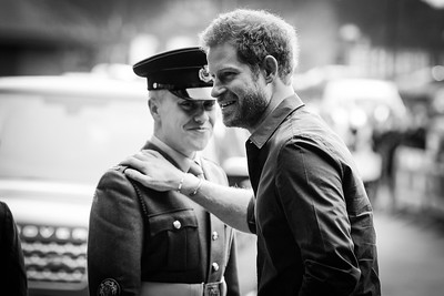 Prince Harry visits Newcastle and Gateshead with Heads Together.