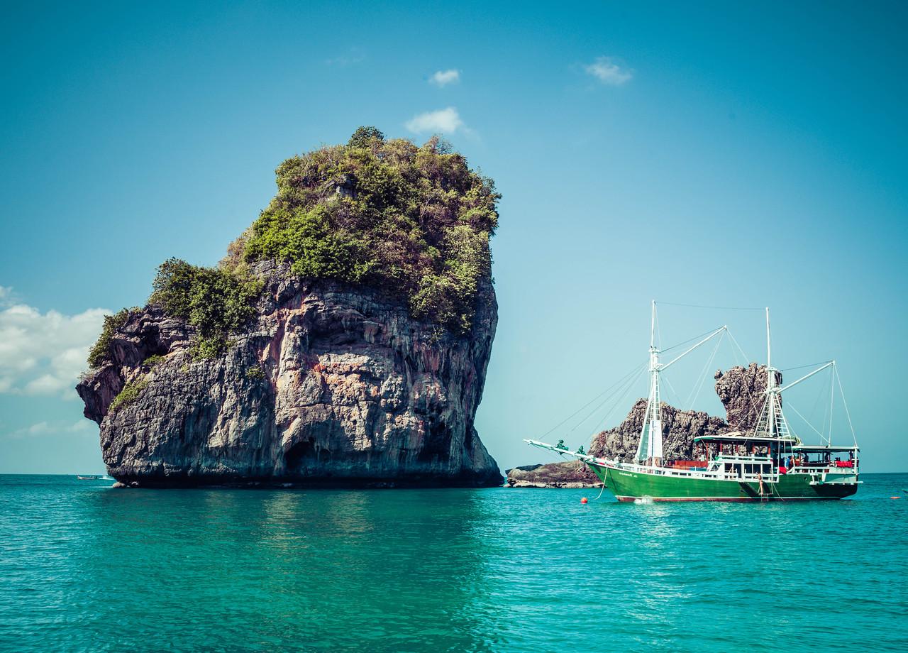 Exploring The Archipelago Around Krabi In Thailand