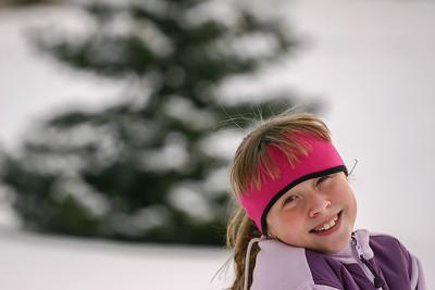 Sarah in Winter