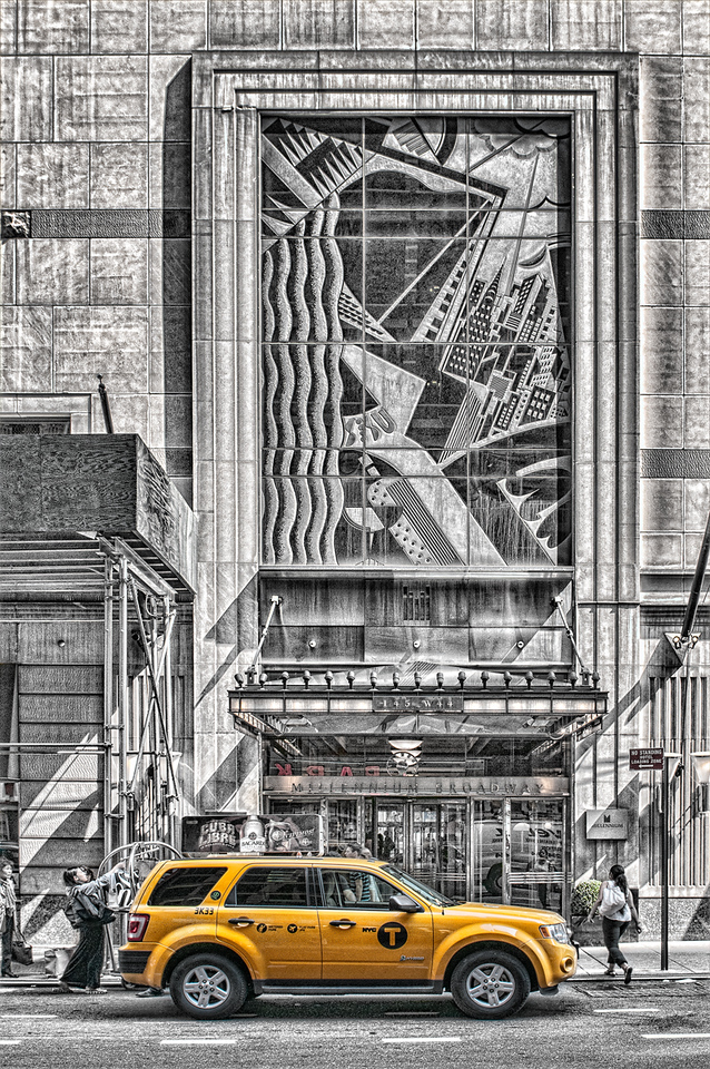 Pickup at Broadway