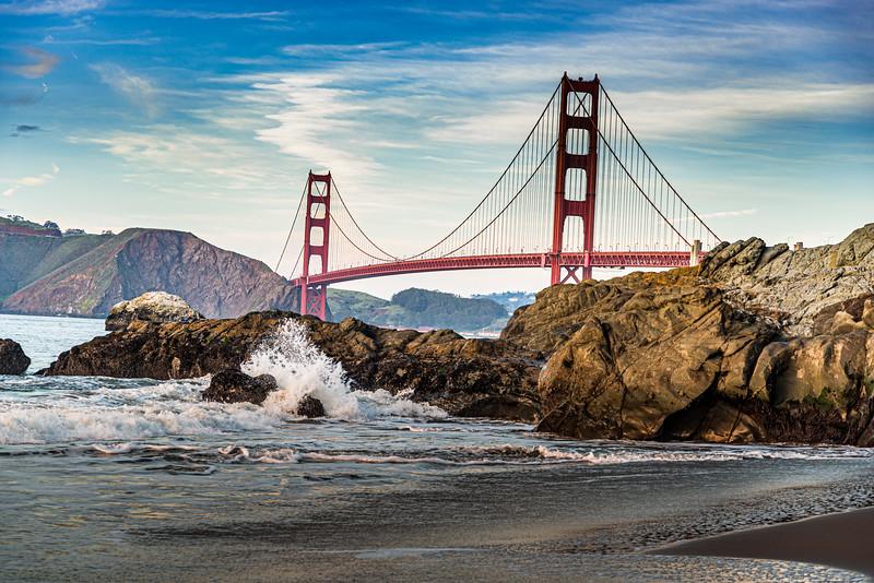 Golden Gate from Bakers Beach