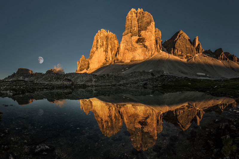 The beauty of the Tre Cime
