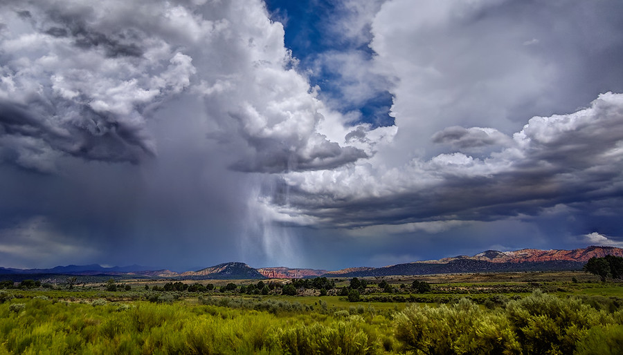 Summerstorm in Utah