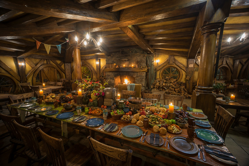 Eating Dinner In Hobbiton