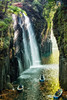 <h1>Looking down the Takachiho Gorge, Japan</h1>