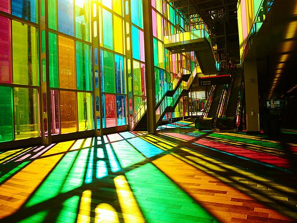 Walk on a rainbow
