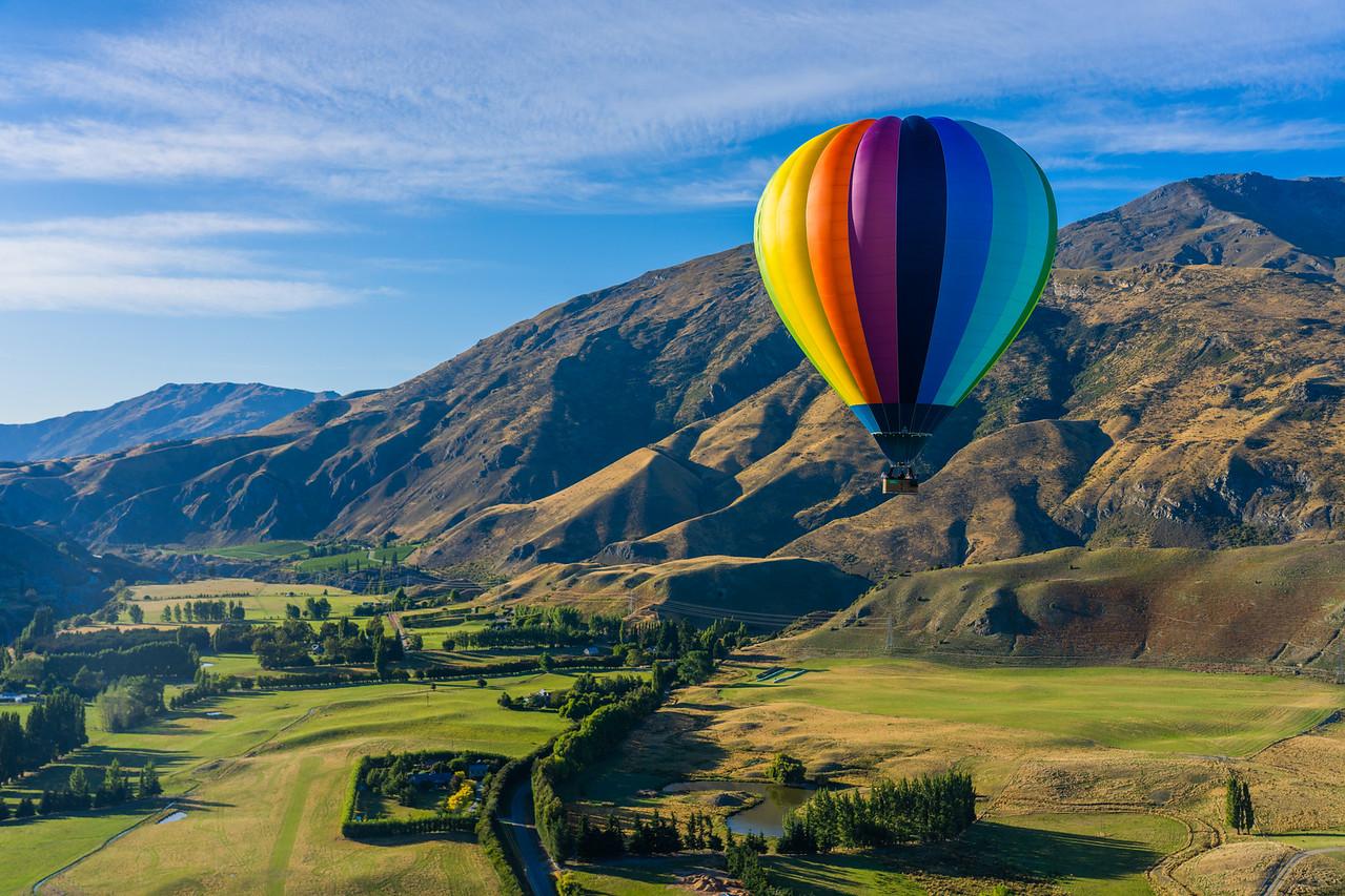 New Zealand Hot Air Balloon