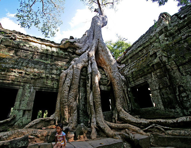 Siem Reap, Cambodia. Ta Prohm at Angkor Thom