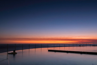 Ocean Pool just Before Sunrise