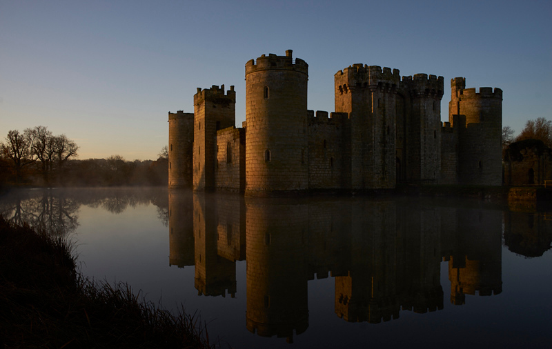 """Winter's Dawn at Bodium Castle"""