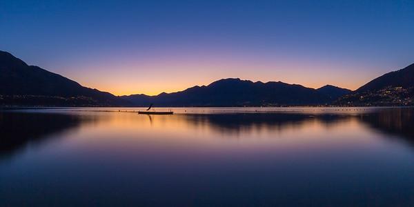 2015-11-28 Sunset over Lago Maggiore-119-Pano