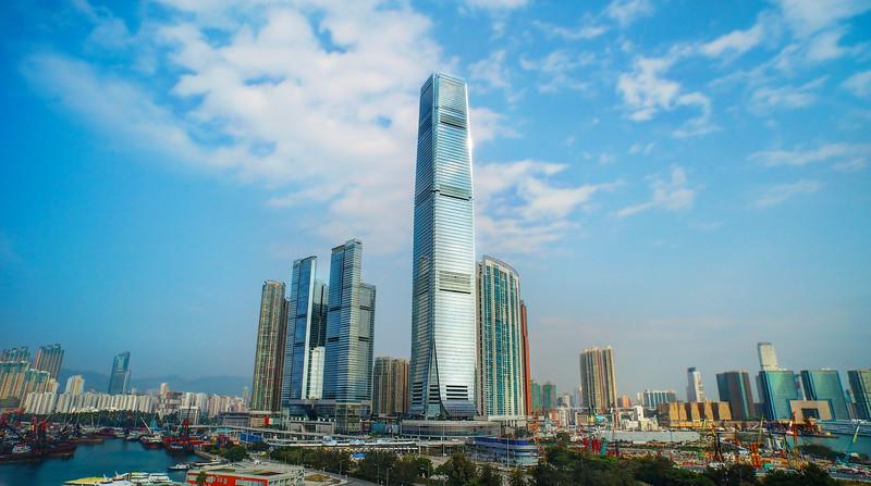 A Panorama of Hong Kong