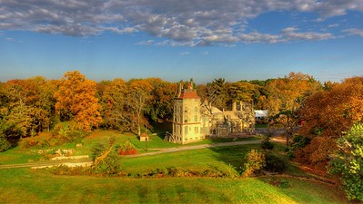 Fall at Fonthill Castle