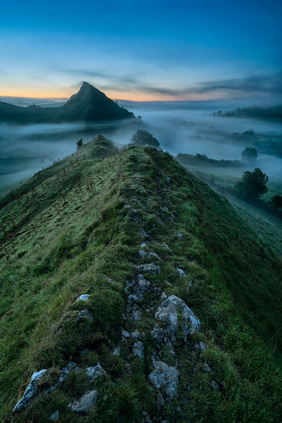 The Dragons Backbone - Chrome Hill - Peak District National Park