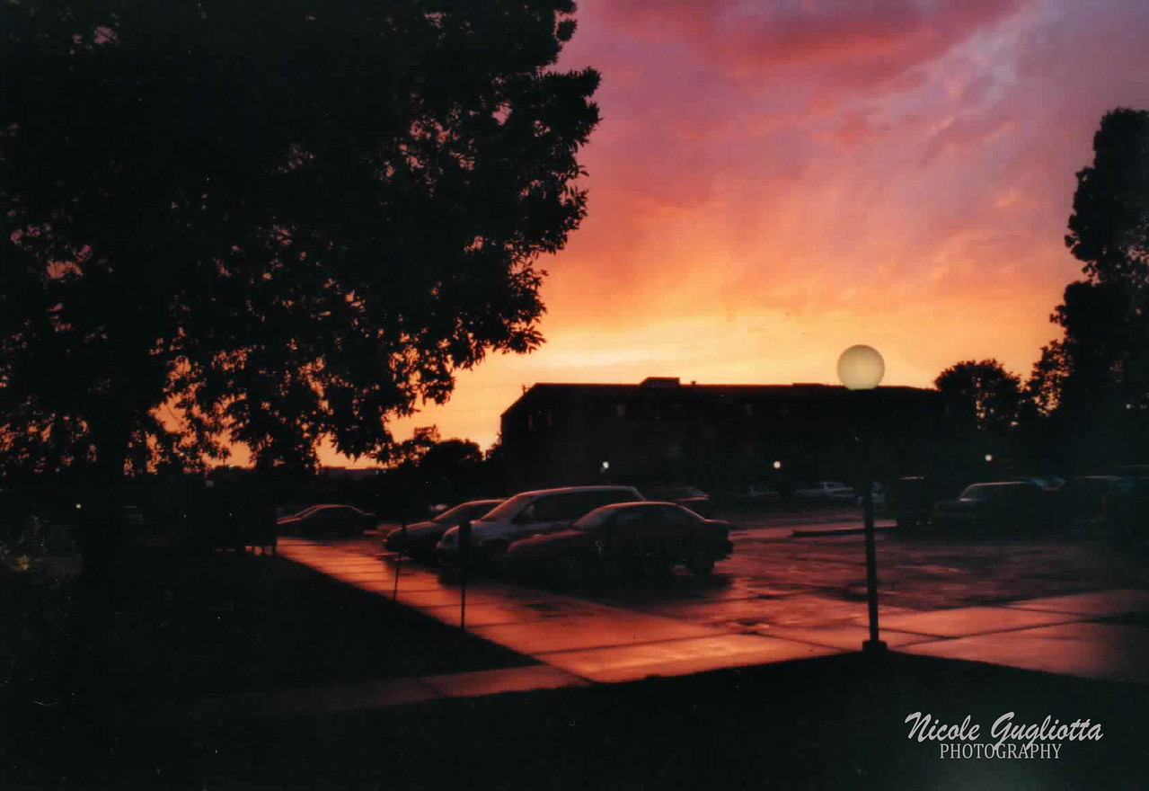 Sunset in Ames, Iowa