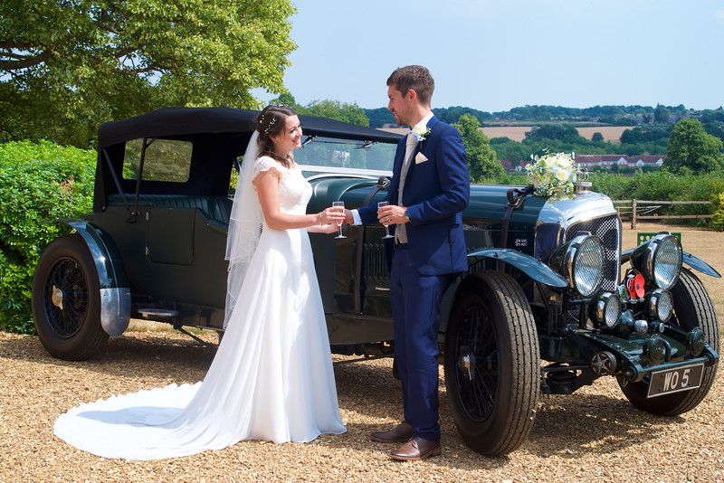 Bentley Car Wedding