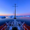 Sunset Reflections Pleneau Island - Pleneau Island Antarctica