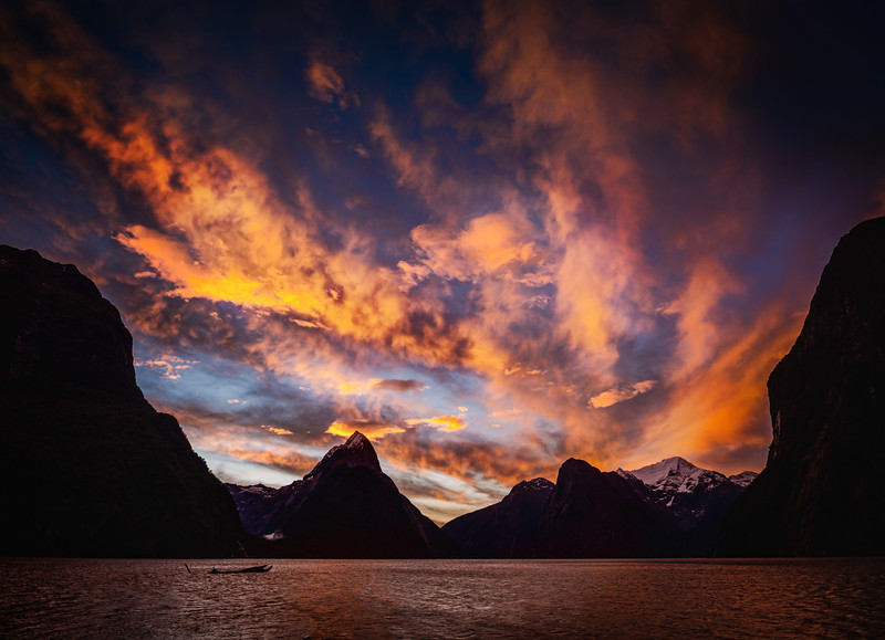 """<h2>A Moving Sunset</h2> <br/>When the sun started going down in Milford Sound, I figured I was going to start using up a lot of memory cards. I'm still using those RAW Steel cards that are 16GB each. The D800 has been filling up my cards pretty quickly, so I've been thinking about upgrading to 32GB. But I already have a load of 16GB and swapping isn't that much of a pain… maybe I should just wait until I need the 64GB some day… if ever.<br/><br/>- Trey Ratcliff<br/><br/><a href=""""http://www.stuckincustoms.com/2012/09/09/a-moving-sunset/"""" rel=""""nofollow"""">Click here to read the rest of this post at the Stuck in Customs blog.</a>"""