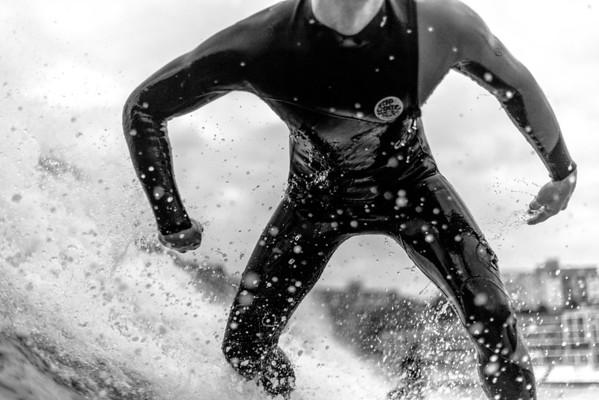 Surfer Midshot