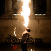 London's Fire Dancer
