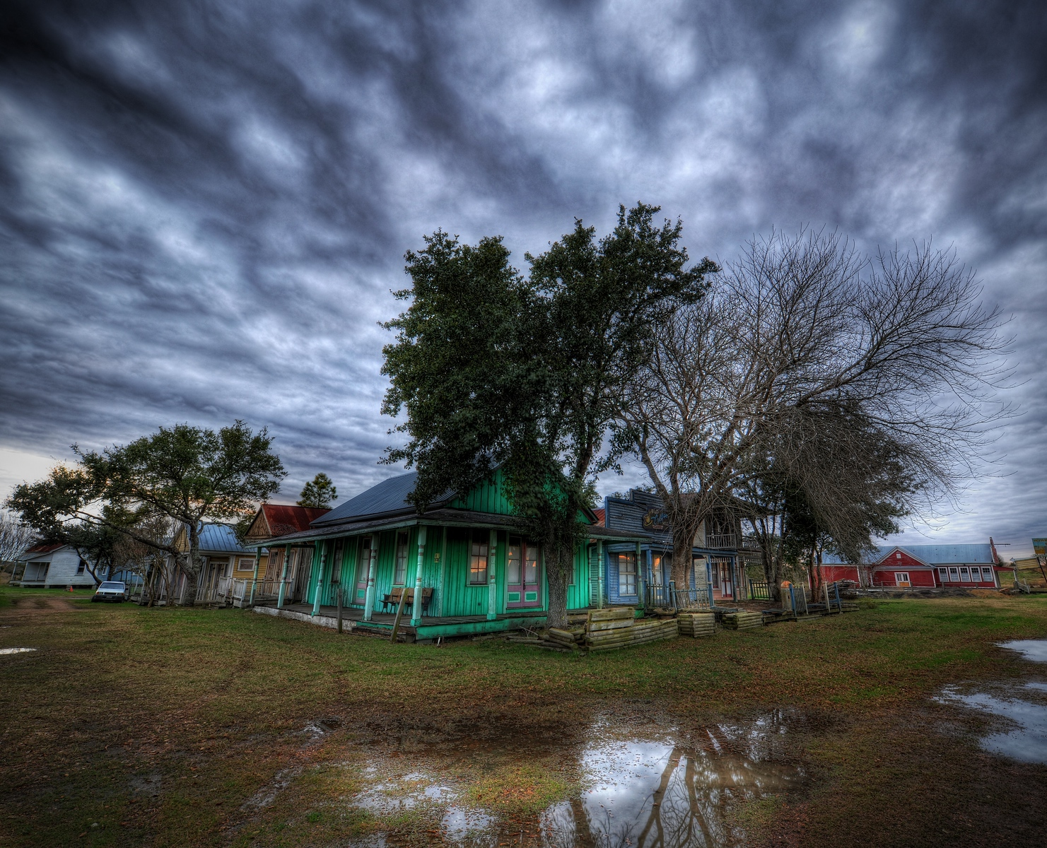 """The Place in Texas Where They Found the 17 Bodies Now this is a proper Texas ghost town! It was always one of those things that fascinated me as a child.  Pretty much anything with the name """"ghost"""" in it was cool back then, including my """"Choose Your Own Adventure"""" books.  I remember there was one called """"Deadwood"""" or something like that, which always had a creepy ghost town feel to it.Anyway, this is a strange abandoned town outside of Brenham, Texas (Home of Blue Bell Ice Cream!).  And no, 17 Bodies were not found here... just being a bit dramatic.  Or maybe there WERE 17 bodies here but the authorities are just covering it up.  It's all true.  I heard Alex Jones say it.Last, I have updated my Nikon 14-24 Review and my Nikon 24-70 Review with new photos and the like.  I know that only about half of our audience is photographers, but some people are looking to get into it more seriously, so maybe those will be helpful to you!- Trey RatcliffClick here to read the rest of this post at the Stuck in Customs blog."""