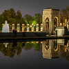 World War II Memorial Reflected