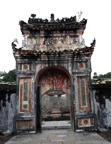 Hue, VN. Part of the Imperial City