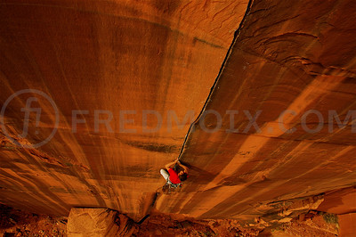Didier Berthod, The Optimator, Optimator Wall, Indian Creek, Utah, US