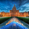 "<h2>The State Capitol of Texas at Dusk</h2> <br/>I went down on Saturday evening to do some shooting around Austin and caught the capitol around sunset.  There are all kinds of interesting things about the Texas capitol, like this cool underground Illuminati chamber you can see here, but the one thing that all Texans seem to know is that our capitol is 14 feet taller than the one in D.C.  This is a source of pride for Texans, along with the cool and trivial fact that we maintain, in our state constitution, the right to secede from the Union.<br/><br/>The capitol is made out of this pink granite, and it gets a little pinker at night at soon as they turn on the lights, especially against the blue sky.<br/><br/>- Trey Ratcliff<br/><br/><a href=""http://www.stuckincustoms.com/2009/01/12/the-state-capitol-of-texas-at-dusk/"" rel=""nofollow"">Click here to read the rest of this post at the Stuck in Customs blog.</a>"