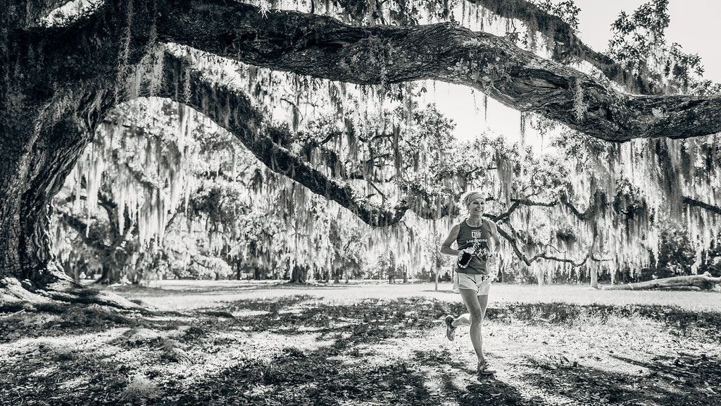 Trail Runner in Fontainebleau State Park