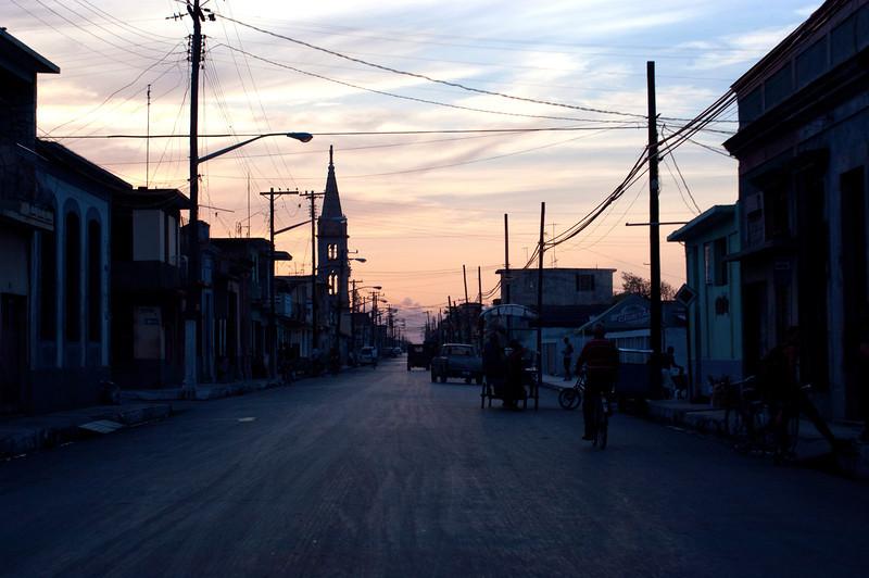 Dusk near Habana