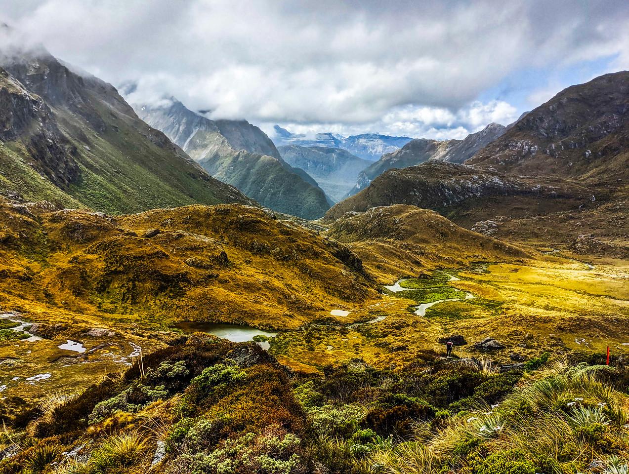 New Zealand South Island Hike