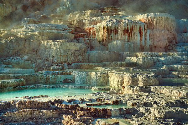 'Thermal Textures' ~ Yellowstone National Park