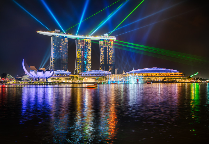 The Light Show in Singapore