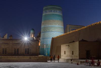 Dusk by the Kalta Minor || Khiva, Uzbekistan