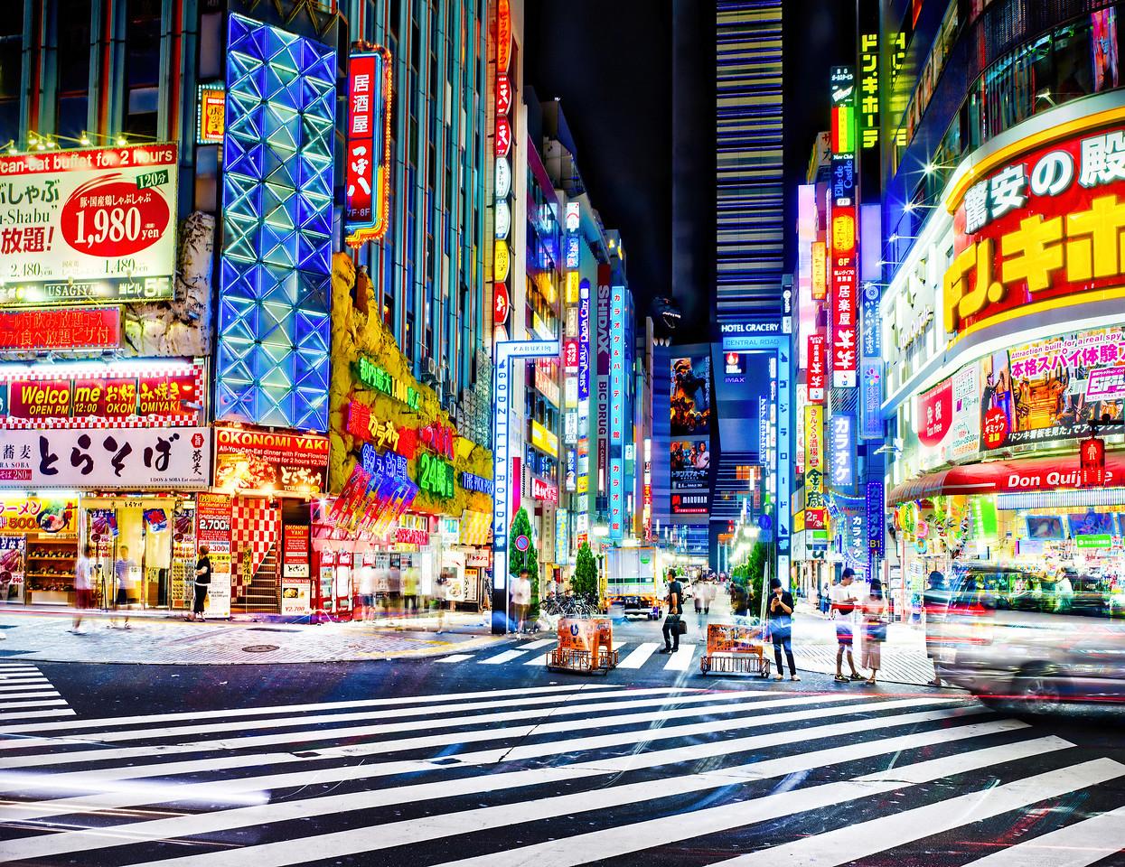 Shinjuku!