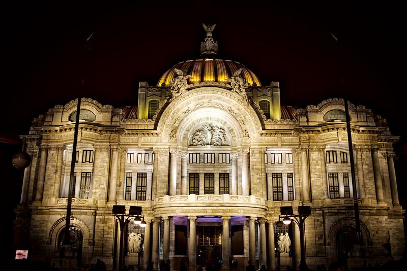 "Fine Arts Palace near the city center ""Zocalo"""