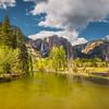 Yellow Colors of Merced River (Yosemite)