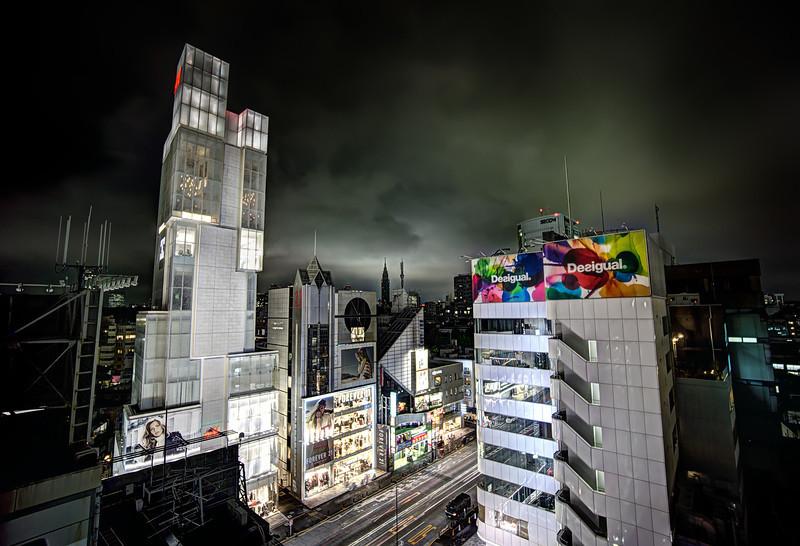 High Atop Tokyo