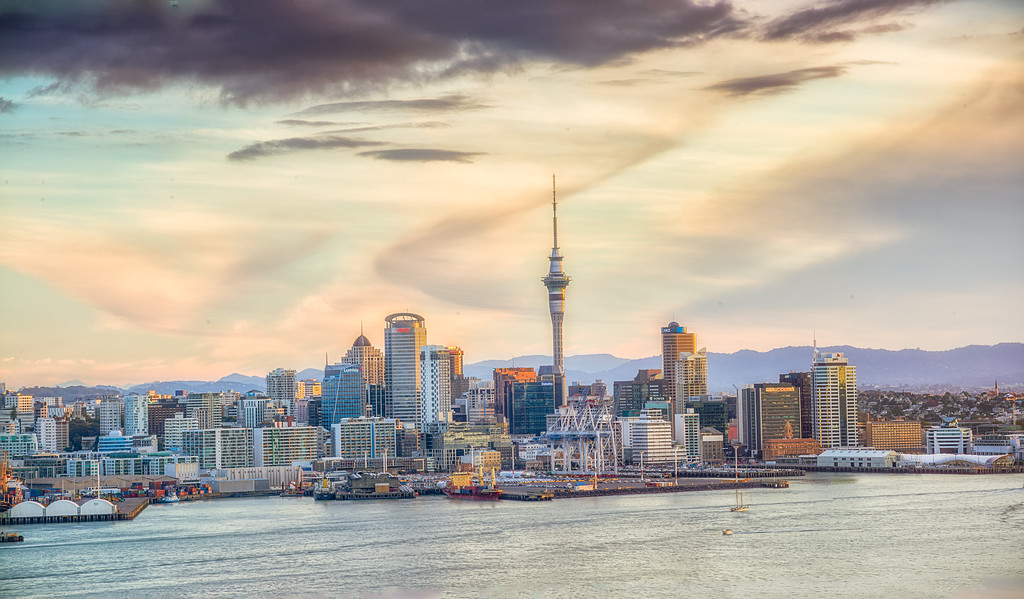 Auckland cityscape, New Zealand