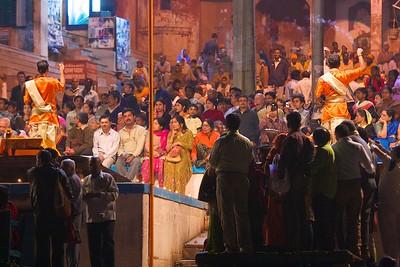 Arti Ceremony, Varanasi, 2009