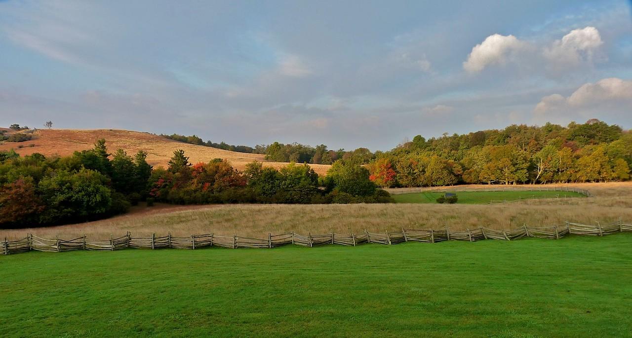 blue ridge parkway field
