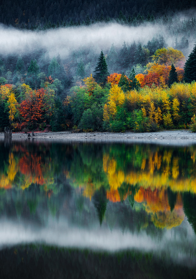 Fall Reflections in British Columbia